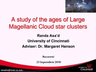 A study of the ages of Large  Magellanic  Cloud star clusters