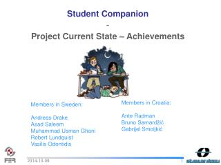 Student Companion - Project Current State – Achievements