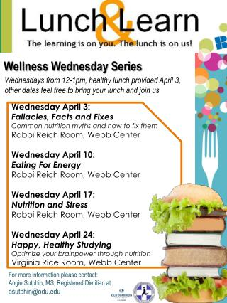 Wellness Wednesday Series
