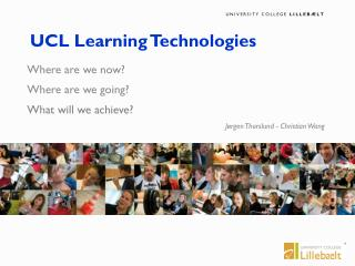 UCL Learning Technologies