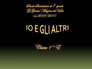 Scuola Secondaria di 1� grado �G.Grassa� Mazara del Vallo a.s.2009/2010
