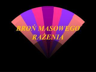 BRON MASOWEGO RAZENIA