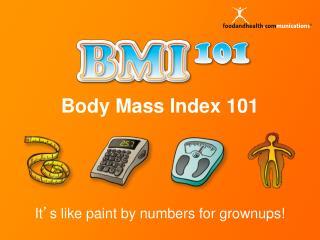 Body Mass Index 101
