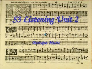 S3 Listening Unit 2