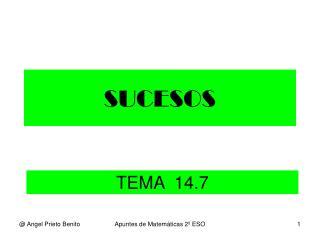 SUCESOS