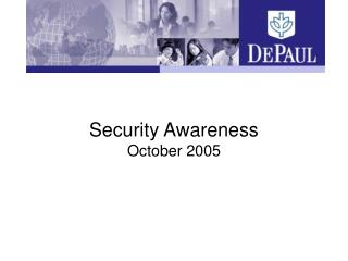 Security Awareness October 2005