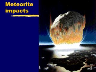 Meteorite impacts
