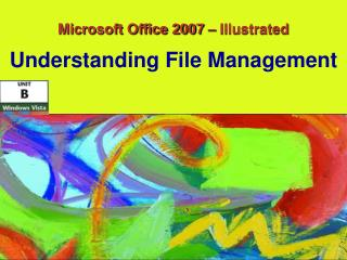 Microsoft Office 2007 – Illustrated