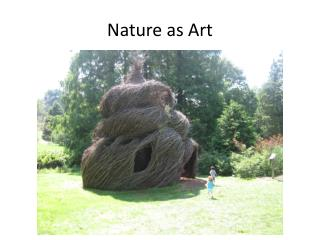 Nature as Art