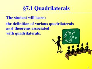 §7.1 Quadrilaterals