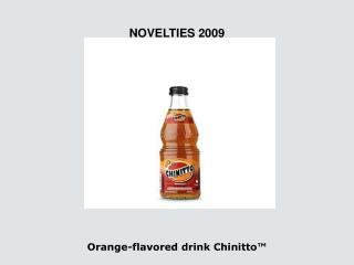Orange-flavored drink Chinitto™
