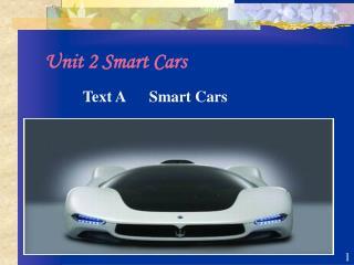 Unit 2 Smart Cars