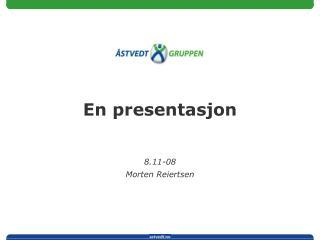 En presentasjon