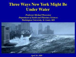 Three Ways New York Might Be Under Water