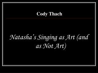 Cody Thach