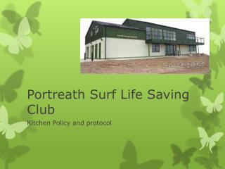 Portreath Surf Life Saving Club
