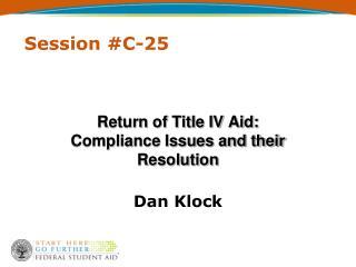 Session #C-25