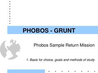 PHOBOS - GRUNT