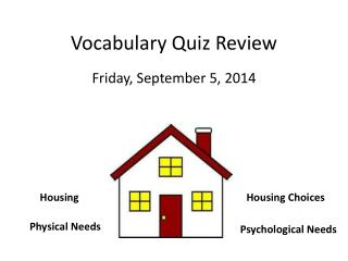 Vocabulary Quiz Review
