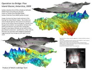 Operation Ice Bridge: Pine Island Glacier, Antarctica, 2009