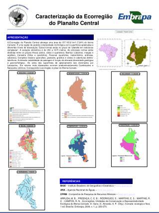 Caracterização da Ecorregião do Planalto Central