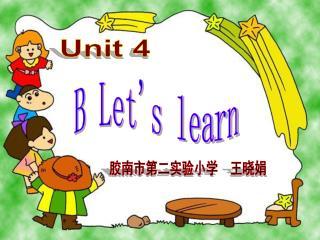 B Let's learn