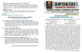 Edisi :  LIII/ 14  pril  2013
