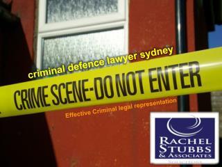 Criminal Defense Lawyer Sydney