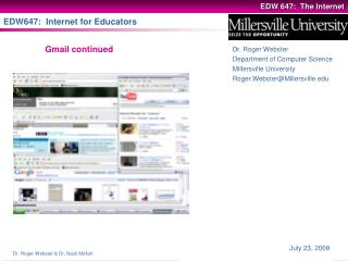 EDW647:  Internet for Educators
