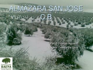 ALMAZARA SAN JOSE C.B