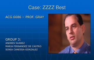 Case: ZZZZ Best