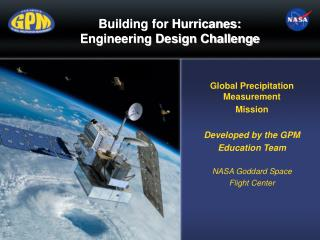 Building for Hurricanes:  Engineering Design Challenge