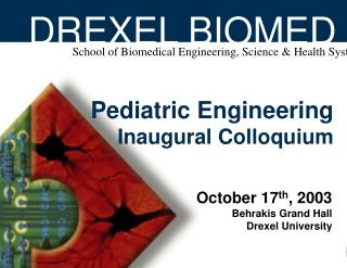 DREXEL BIOMED