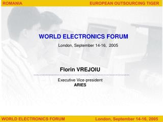 WORLD ELECTRONICS FORUM