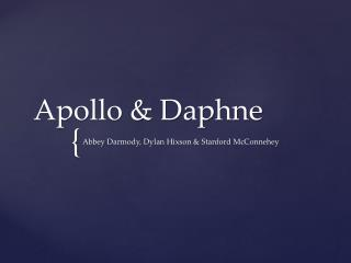 Apollo & Daphne