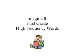 Imagine It! First Grade High Frequency Words