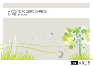 A ROUTE TO ZERO CARBON for FE colleges