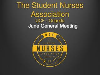 The Student Nurses Association