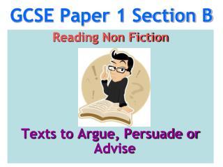 GCSE Paper 1 Section B