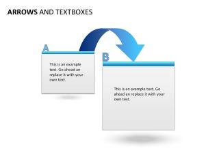 ARROWS  AND TEXTBOXES
