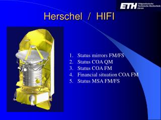 Herschel  /  HIFI