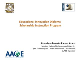 Educational Innovation  Diploma Scholarship Instruction Program