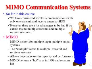 MIMO Communication Systems