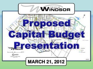 Proposed Capital Budget Presentation