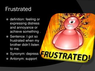 Frustrated