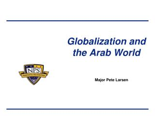 Globalization and the Arab World