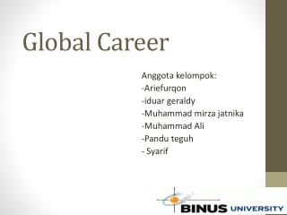 Global Career