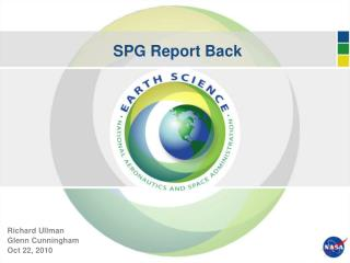 SPG Report Back