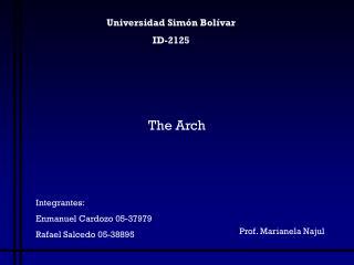 Universidad Simón Bolívar ID-2125