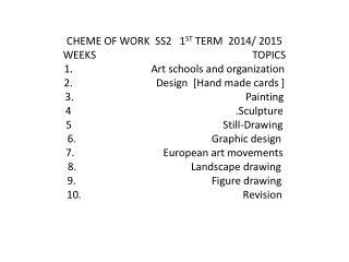 ART SCHOOLS AND ORGANIZATIONS